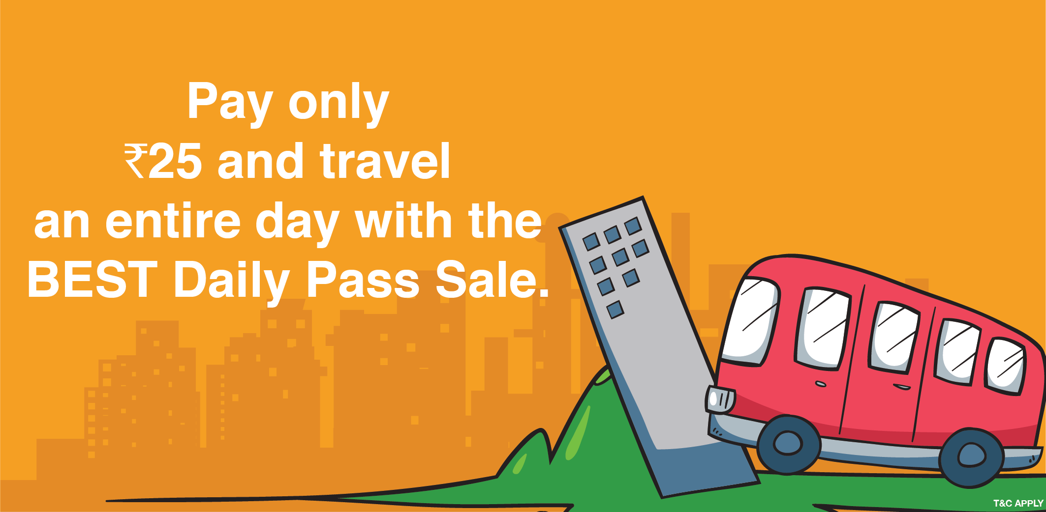 Friday Sale for Existing Daily Pass Users