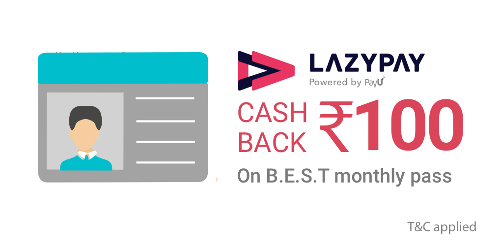 LazyPay offer on B.E.S.T pass