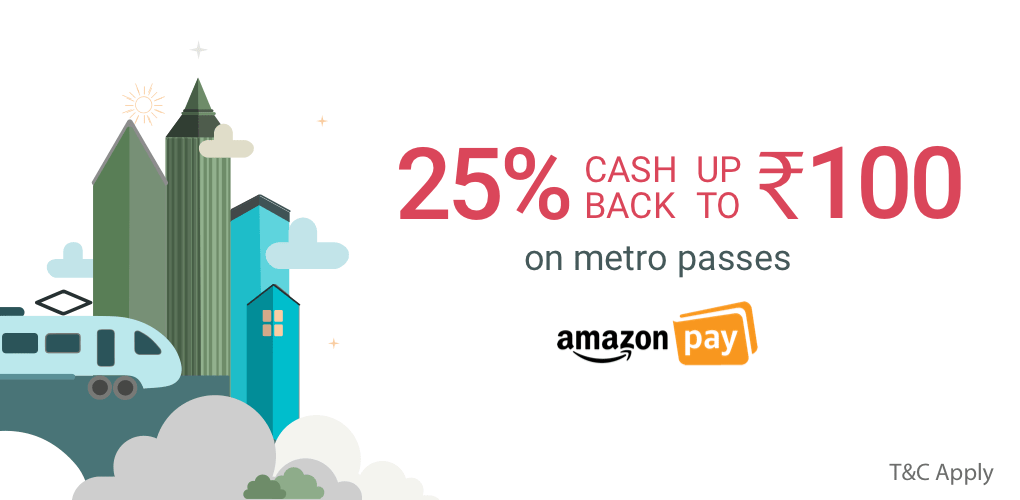 Amazon offer on Metro Travel