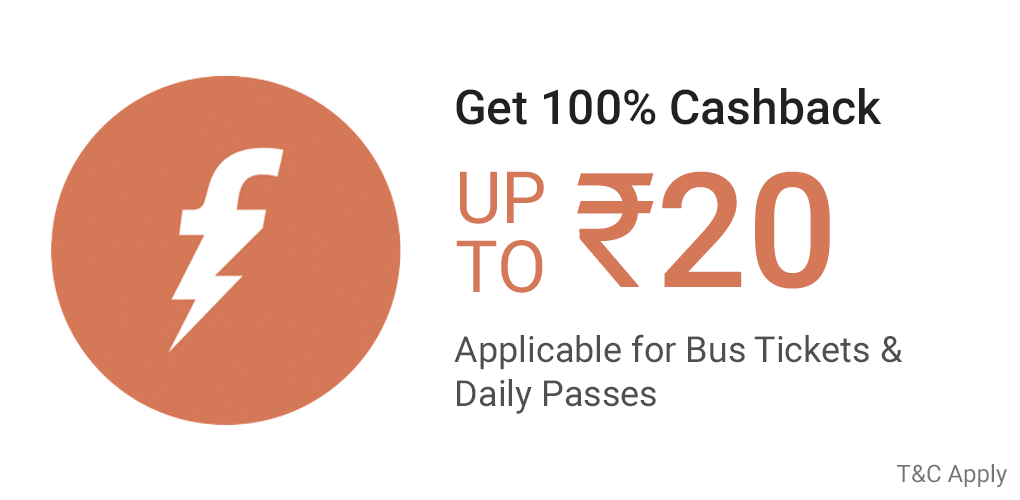Mega Saving on Bus(BEST/NMMT/MBMT) Tickets
