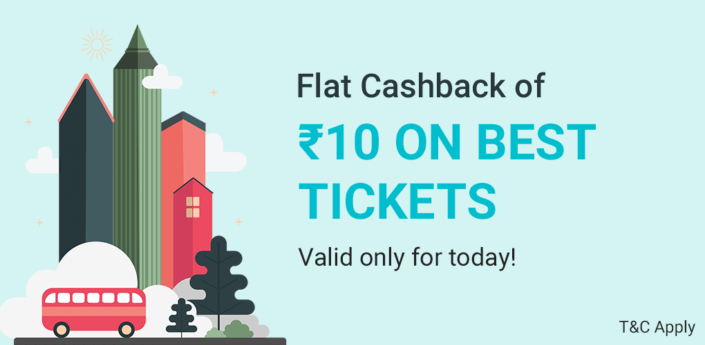 BEST Ticket Sale- Only on 24th April'18